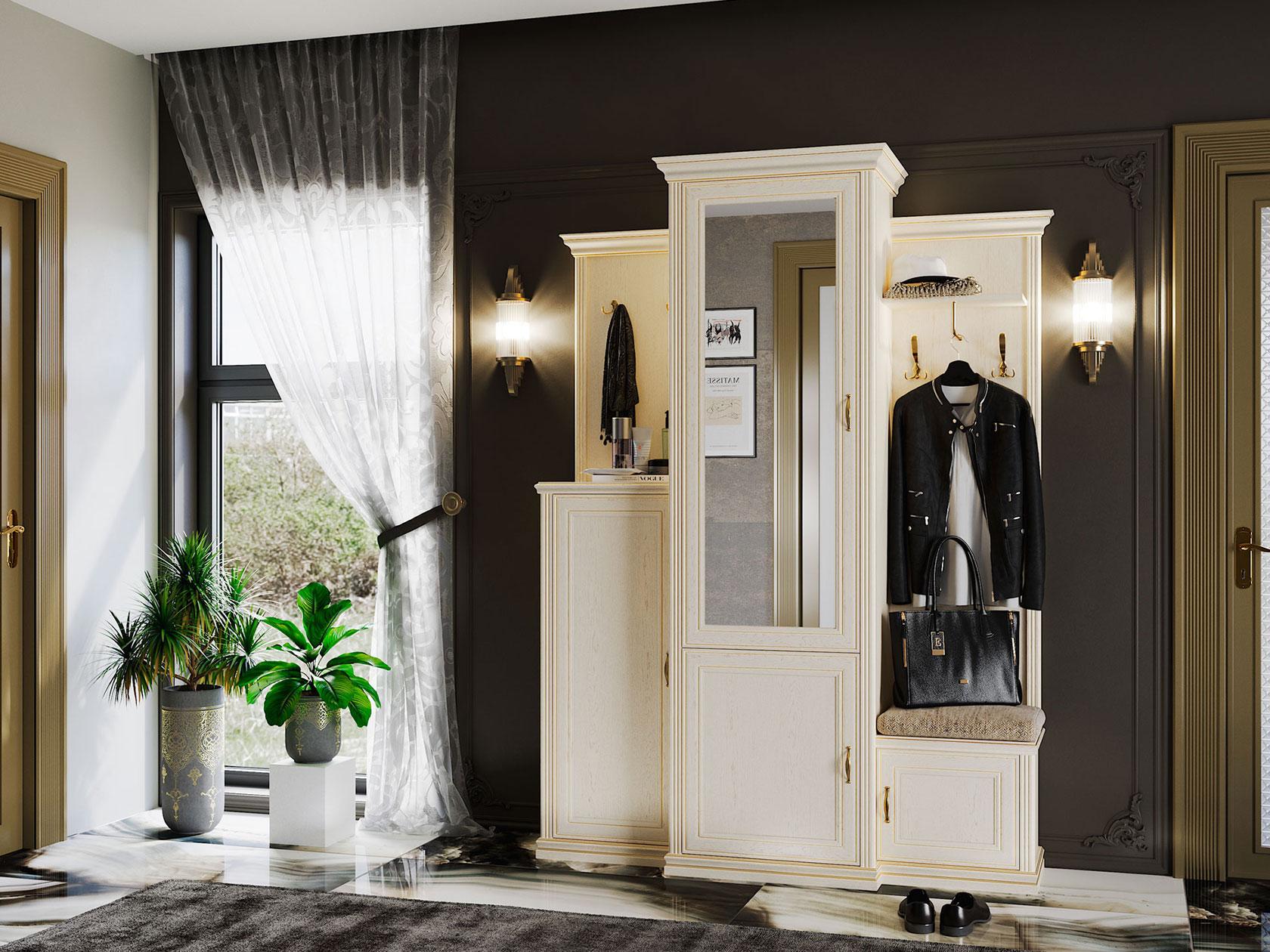 женщины также мебель для прихожей в классическом стиле фото прогулка