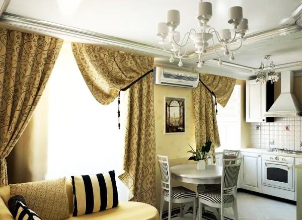 Дизайн интерьера совмещенной кухни и гостиной в хрущевке